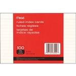MEAD 4X6 WHITE INDEX CARDS