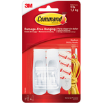 3M COMMAND MEDIUM REMOVABLE HOOKS