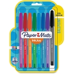 PAPERMATE INKJOY ASSORTED PENS 8+2 PACK