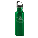 WATER BOTTLE 24 OZ STAINLESS STEEL WITH OVERSIZED ENGRAVING