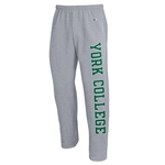 CHAMPION VERTICAL YORK COLLEGE OPEN SWEATPANTS
