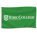 YORK COLLEGE 3'X5' FLAG