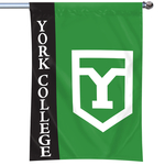 BANNER WITH LARGE CORPORATE SHIELD 40X27