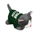 "CHUBLET 5"" CAT WITH GREEN T-SHIRT"