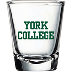 YORK COLLEGE BASIC SHOT GLASS