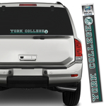 CDI YORK COLLEGE LONG STRIP DECAL