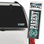 DECAL COLOR SHOCK PARENT W SEAL