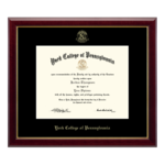 CHURCH HILL CLASSICS EMBOSSED EDITION GALLERY DIPLOMA FRAME