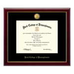 CHURCH HILL CLASSICS 23K GALLERY DIPLOMA FRAME