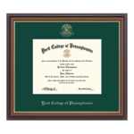 CHURCH HILL CLASSICS TARTAN GREEN REGENCY GOLD DIPLOMA FRAME