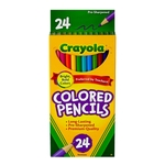 CRAYOLA COLORED PENCILS SET OF 24