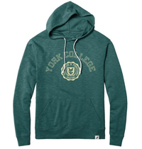 LEAGUE HOODED SWEATSHIRT WITH SEAL DESIGN