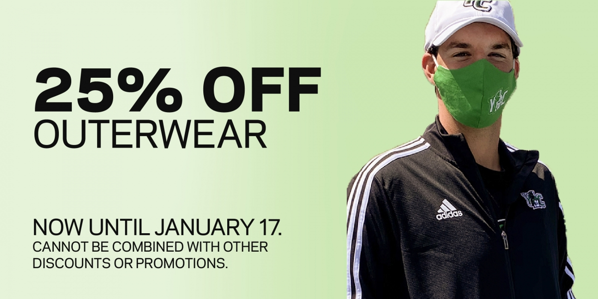 Outerwear 25% off
