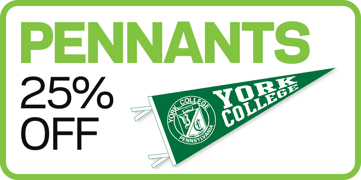 Pennants 25% off