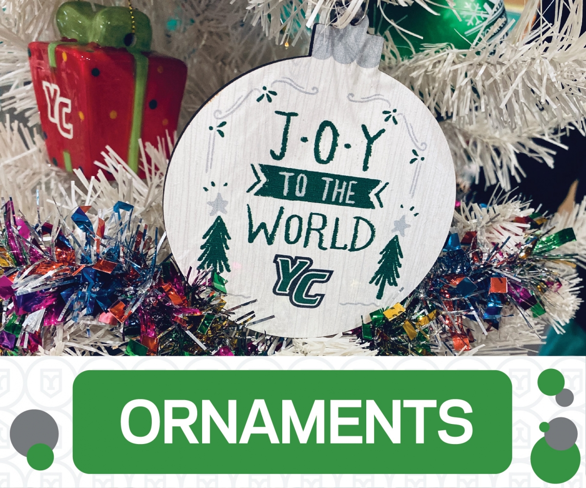 Shop York College Holiday Ornaments